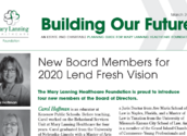 Building Our Future - March 2020 Newsletter