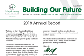 Building Our Future - 2018 Annual Report