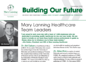 Building Our Future - December 2020 Newsletter