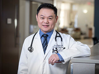 Photo of MCC physician now on faculty of UNMC