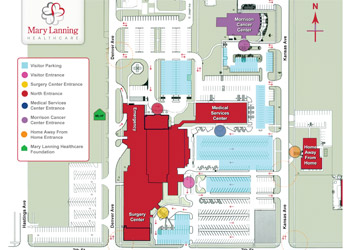 Campus Maps Mary Lanning Healthcare